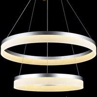 NEW Modern LED Chandeliers 75W White Acrylic For Dinning Room Restaurant Bedroom Study Chandelier Lighting CE