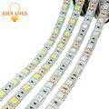 Tira CONDUZIDA 5050 DC12V 60 LEDs/m 5 m/lote Flexível do DIODO EMISSOR de Luz RGB 5050 Tira CONDUZIDA