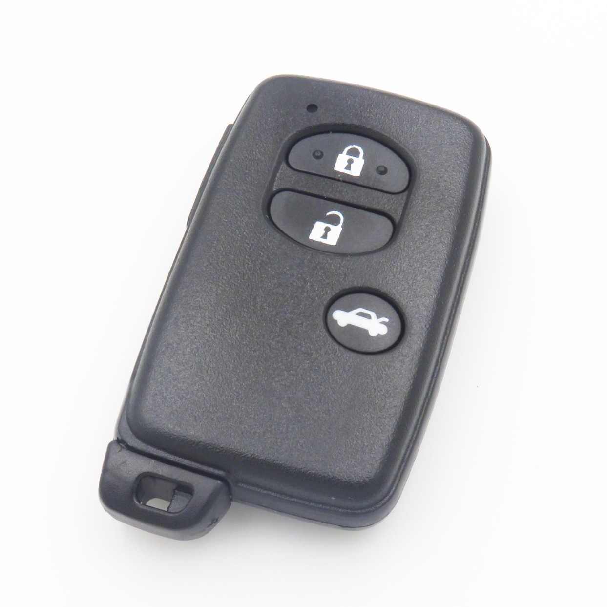 XinYueXin пульт дистанционного ключа оболочки корпуса для Toyota 4runner Venza Land Cruiser 3 кнопки ключ пустой замена крышка с новой Аварийный ключ