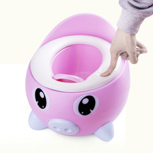 Portable Baby Pot Cute Toilet Seat For Kids Potty Training Childrens Bowl