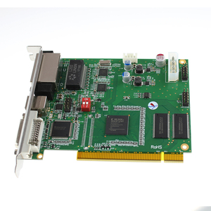 Image 2 - LINSN TS802D Sending Card Full Color LED Video Display LINSN TS802 Sending Card Synchronous LED Video Card DS802 indoor outdoor