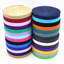 New Colourful 10mm Chevron 100% Cotton Ribbon Webbing Herring Bonebinding Tape Lace Trimming for Packing Accessories DIY 3yards