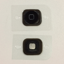 High Quality Home Menu Button Return Key Cap with Rubber Gasket For iPod Touch 5 6 Replacement Parts cheap sanvable Home button Home button for iPod Touch 5Gen 6Gen Black White