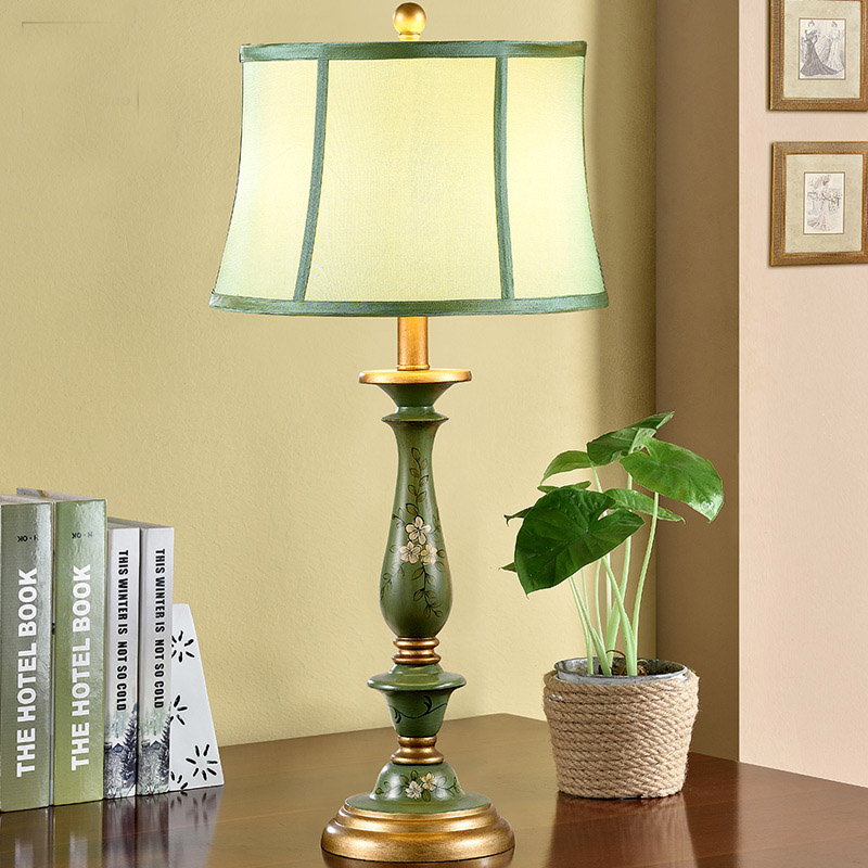 Luxurious Table Lamp Country Bedside Table Lamp Bedside Lamp Living Room  Decoration Luminaria De Mesa Abajour Part 86