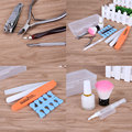 12Pcs/ Set Easy Use Nail Tools Pusher Manicure Pedicure Base Nail Polish