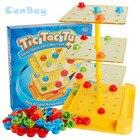 <+>  2-4 игрока Twist Tic Tac Turn Toe Game Play или Spin 4 в ряд Взаимодействие родителей и детей Семейн ①