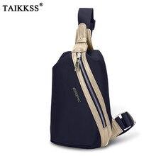 New Men s Chest Bags font b Oxford b font Fashion Patchwork Shoulder Messenger bags Waterproof