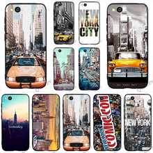 Pattern New York City Times Square Taxi Phone Cover for Xiaomi Mi 8 Case A1 A2 Lite 6 F1 Skin