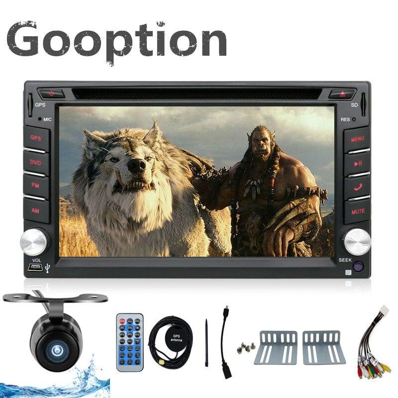 NEW Store Car Electronic 2 din Car DVD Player GPS Navigation 6 2inch 2din Universal Car