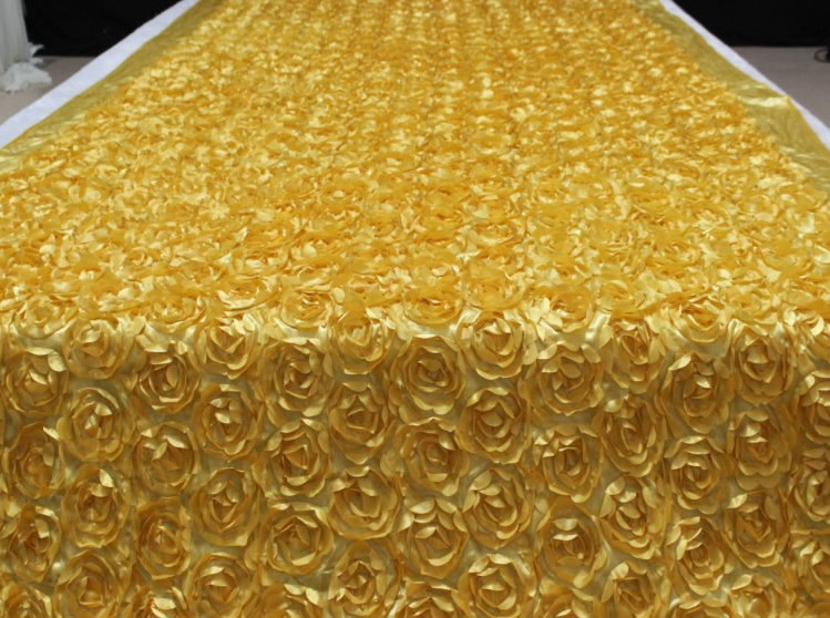 Aliexpress Com Buy Luxury Gold Theme 3d Rose Petal Aisle