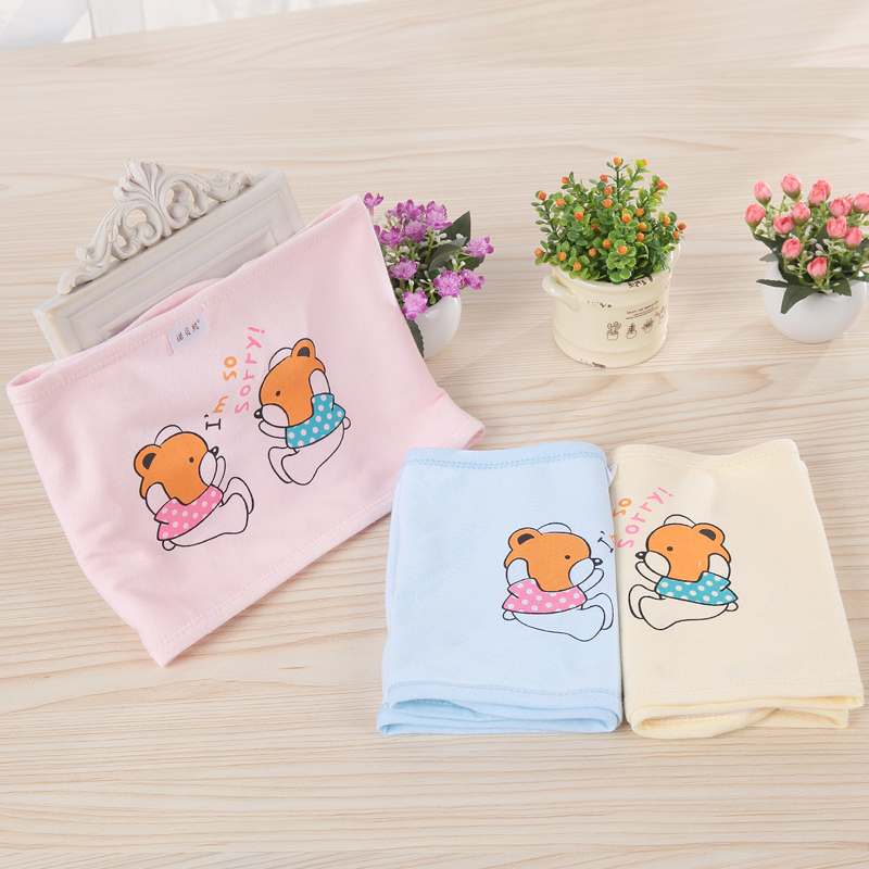 Baby Bellyband Newborn Soft Cute Cotton Belly Button Protector Band Infant Kids Boys Girls Navel Guard Belly Protection