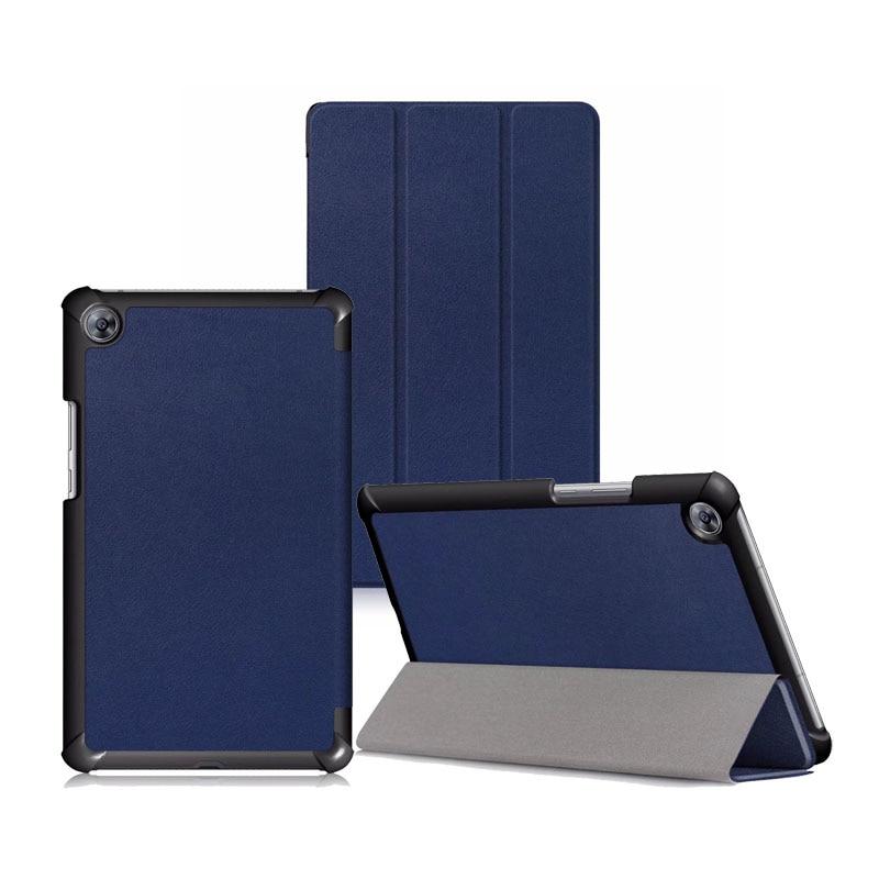 Slim Folio PU Leather Case For Huawei Mediapad M5 8 4 Luxury Flip Stand Cover SHT