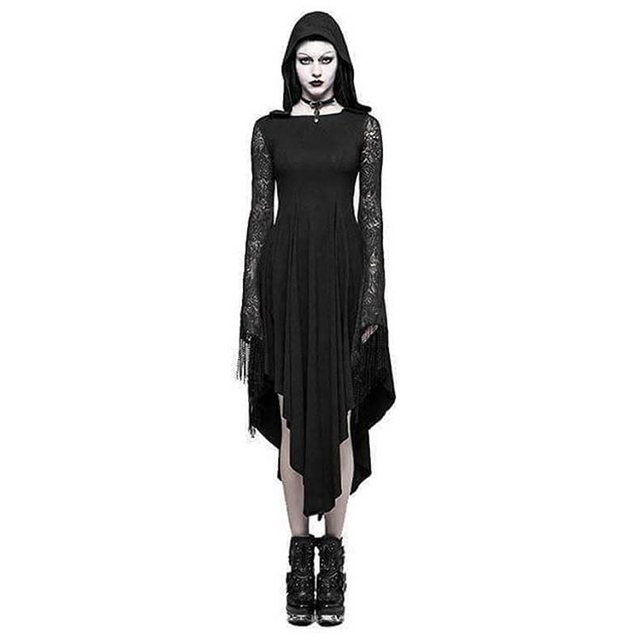 Halloween Black Dress Size S to 5XL 2