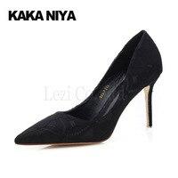 Women Shoes Designer Ladies Pumps Woman High Heel Summer 2017 Ultra High Heel Low Cut Uppers