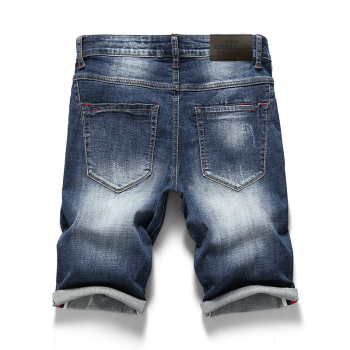 Summer Men's Stretch Short Jeans 2