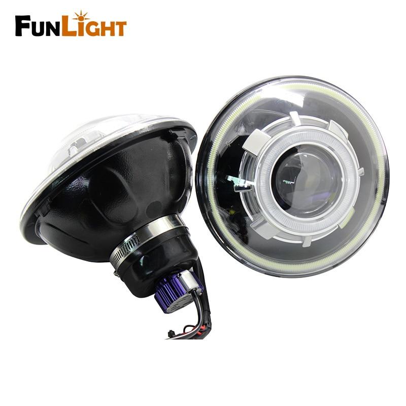 Demen eye Headlight for Jeep Wrangler (3)
