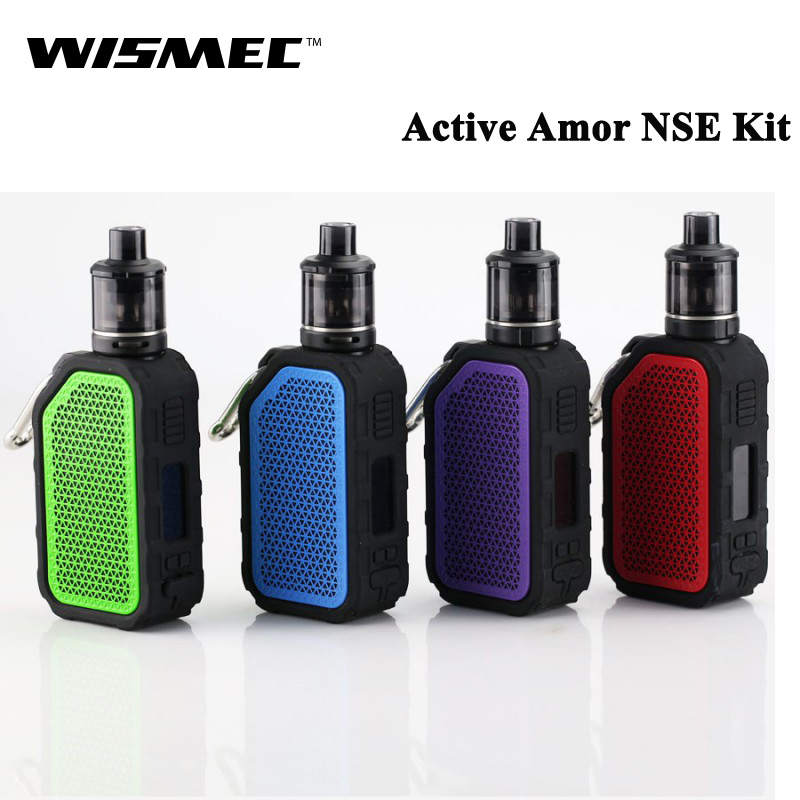 New Original WISMEC ACTIVE with Amor NSE Kit 80W Active BOX MOD Vape Bluetooth Speaker Waterproof