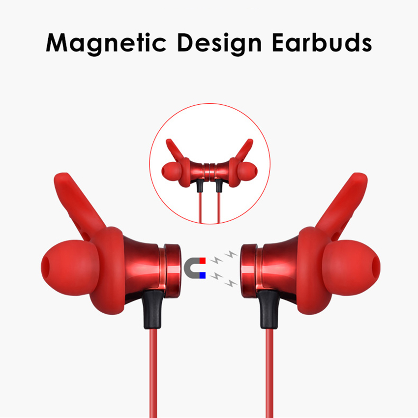Aimitek XT-22 Magnetic Bluetooth Earbuds-2