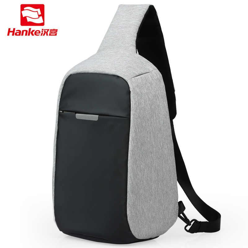ccdf0247b7cf Mixi 2019 Anti-Theft Crossbody Bag Men Sling Chest Bag Fit 9.7 Inch Ipad  Messenger Bag Sports Travel Small One Shoulder