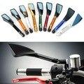 Gt moto-tomok motos retrovisor espelho lateral de alumínio cnc acessórios serve para honda kawasaki suzuki yamaha