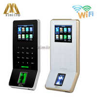 ZK F22 standalone wiegand WIFI TCP/IP fingerprint access control time attendance system can add ID or IC smart card reader