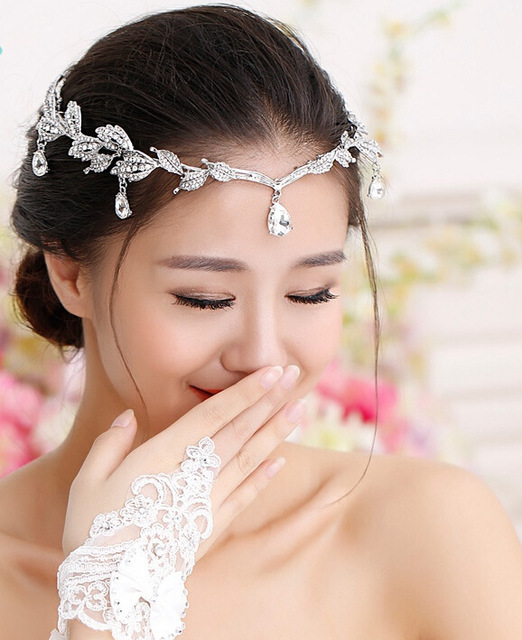 2015 Latest Vintage Bride Hair Accessory Wedding Rhinestone