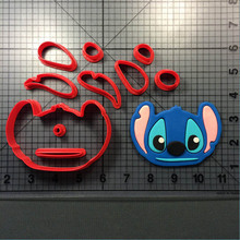 Cartoon Character Lilo Cookie Cutter set Cake Baking Mould Custom Made 3D Printed Set Fondant Molds