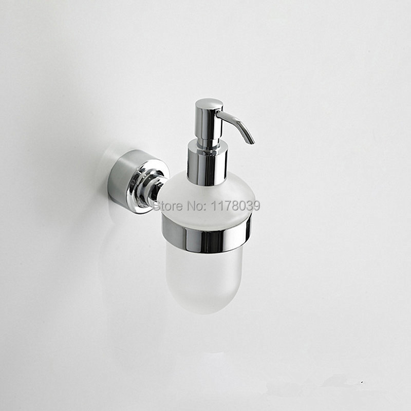 Wall Mounted Hand Soap Dispenser Decorative Bathroom Liquid Soap Dispenser Manual Soap Dispenser