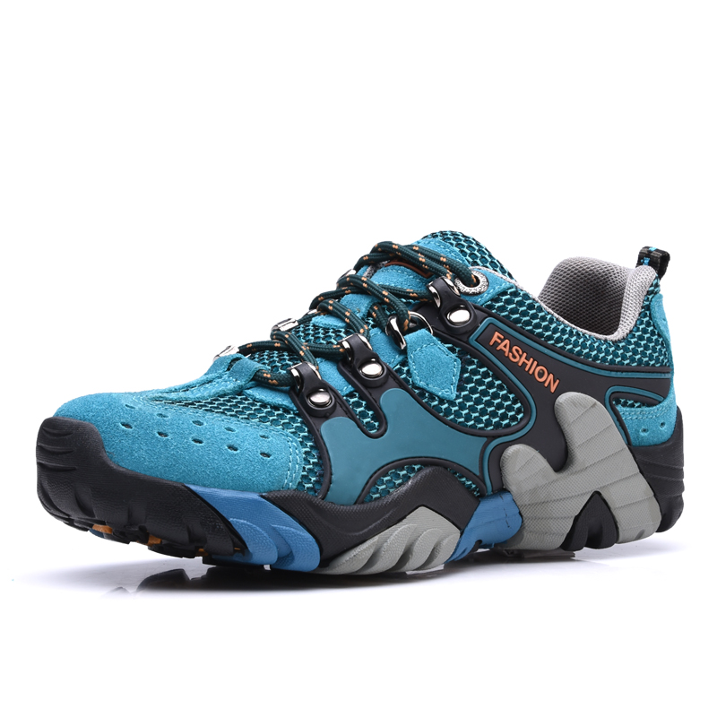 2017 New Arrival Trekking Shoes Men Outdoor Sneakers Mesh Breathable Hiking Trail Shoes Breathable Mountain Trainers жакет aleksandra vanushina aleksandra vanushina mp002xw1a32z