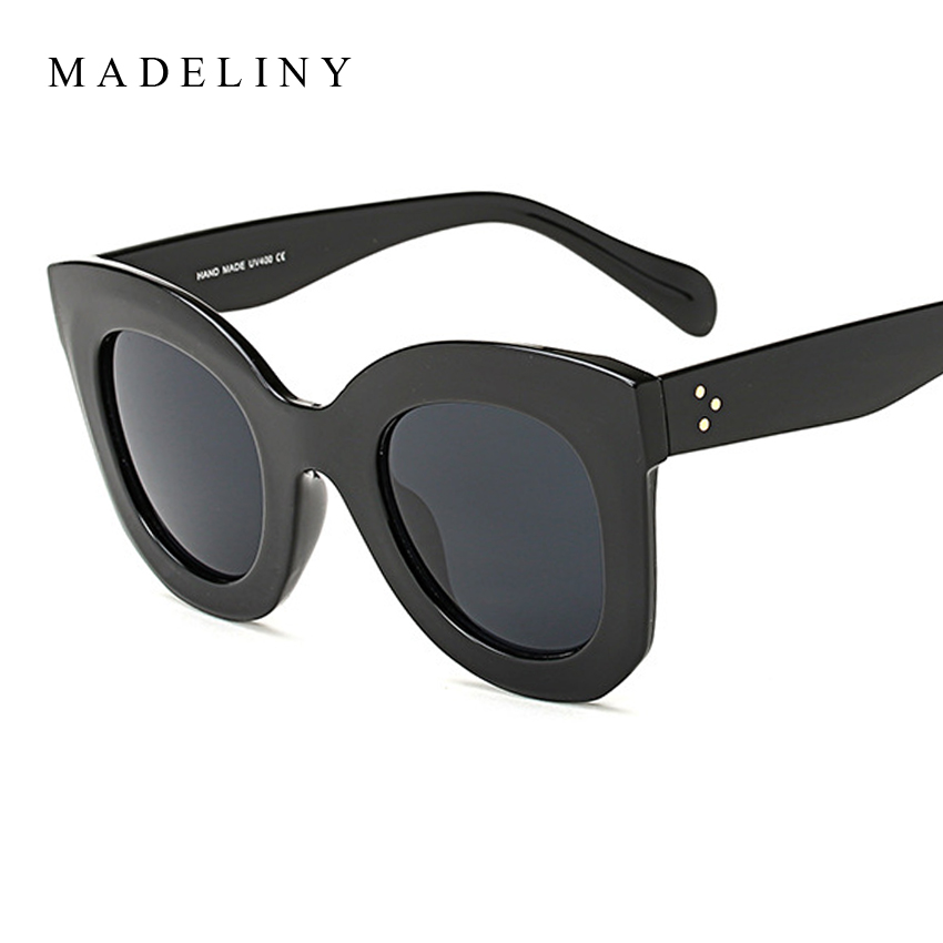 MADELINY New Fashion Cat Eye Sunglasses Women Brand Designer Vintage Gradient Cat Eye Sun Glasses Shades For Women UV400 MA216 1