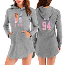 BTS Dress-Style Hooded Sweatshirt