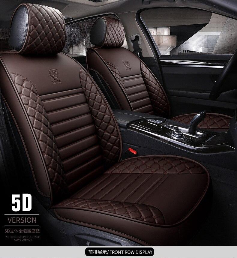 À votre goût accessoires auto housses de siège de voiture en cuir pour TOYOTA HIACE COASTER Sienna Cruiser Solara land cruiser étanche