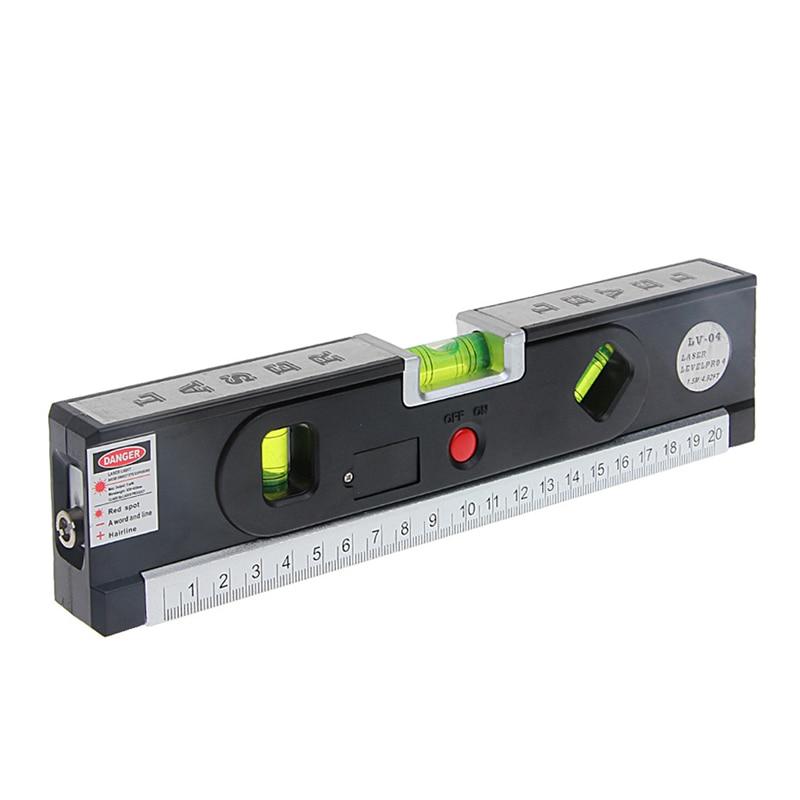 Vertical Bubble Level Laser Marking Lines Tape Aligner Ruler Measuring Tool -Y103