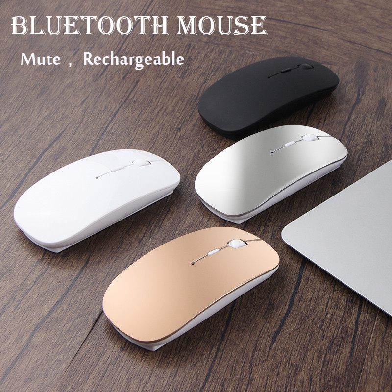 d7d6d0f9568 Rechargeable Wireless Laptop Computer Bluetooth Mouse For Huawei Lenovo  Dell Acer Hp Asus For Macbook Notebook