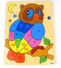 Free shipping, wooden toys, digital puzzle, animal makeup, children's early education puzzle, montessori teaching AIDS, the owl flyingtown montessori teaching aids balance scale baby balance game early education wooden puzzle children toys