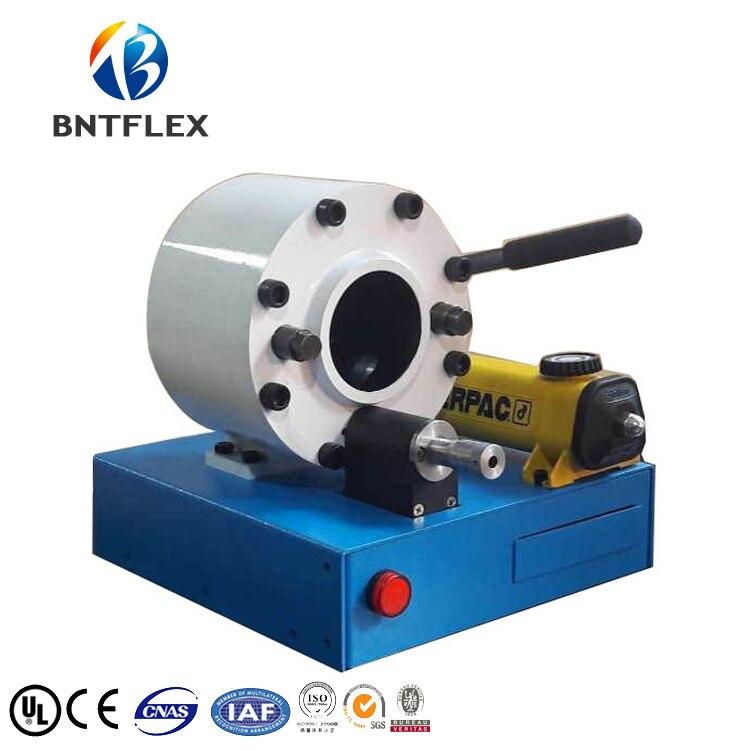 BNTFLEX-30G hidráulica manual portátil ferramenta de estampagem de mangueira com 6 morre de graça