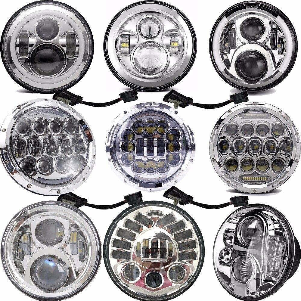 7Inch Round LED Headlight Motorbike Accessories 7