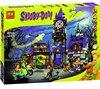 Lepin Bela 10432 Scooby Doo Mysterious Ghost House Building Blocks Bricks Toys Compatible Legoe