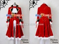 Pandora Hearts Cosplay Oz Vessalius Red Costume H008