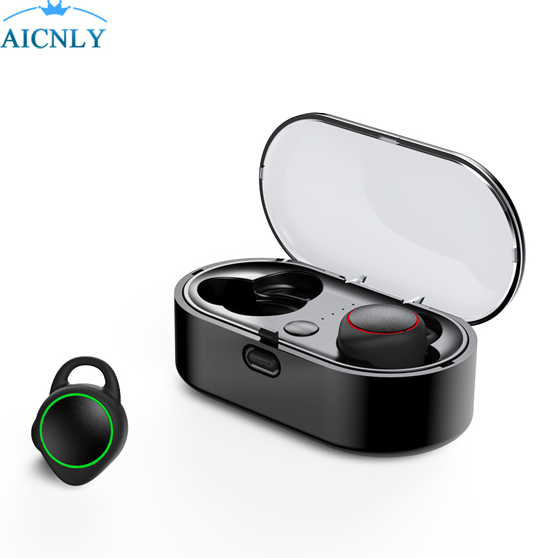 2018 Rushed Audifonos Bluetooth Mini Tws Earphone Real Wireless Stereo 3d Headphones Headset In Ear Earbuds For Samsung Iphone