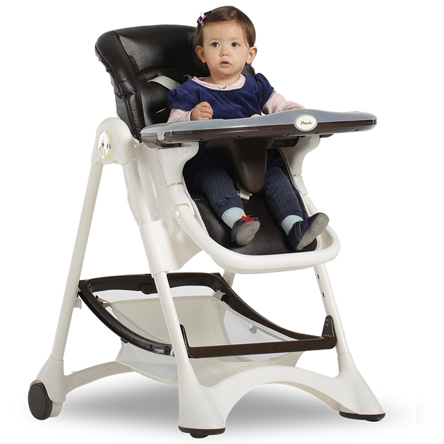 Pouch Multifunction Baby High Chair European Style Portable Feeding Folding Tool