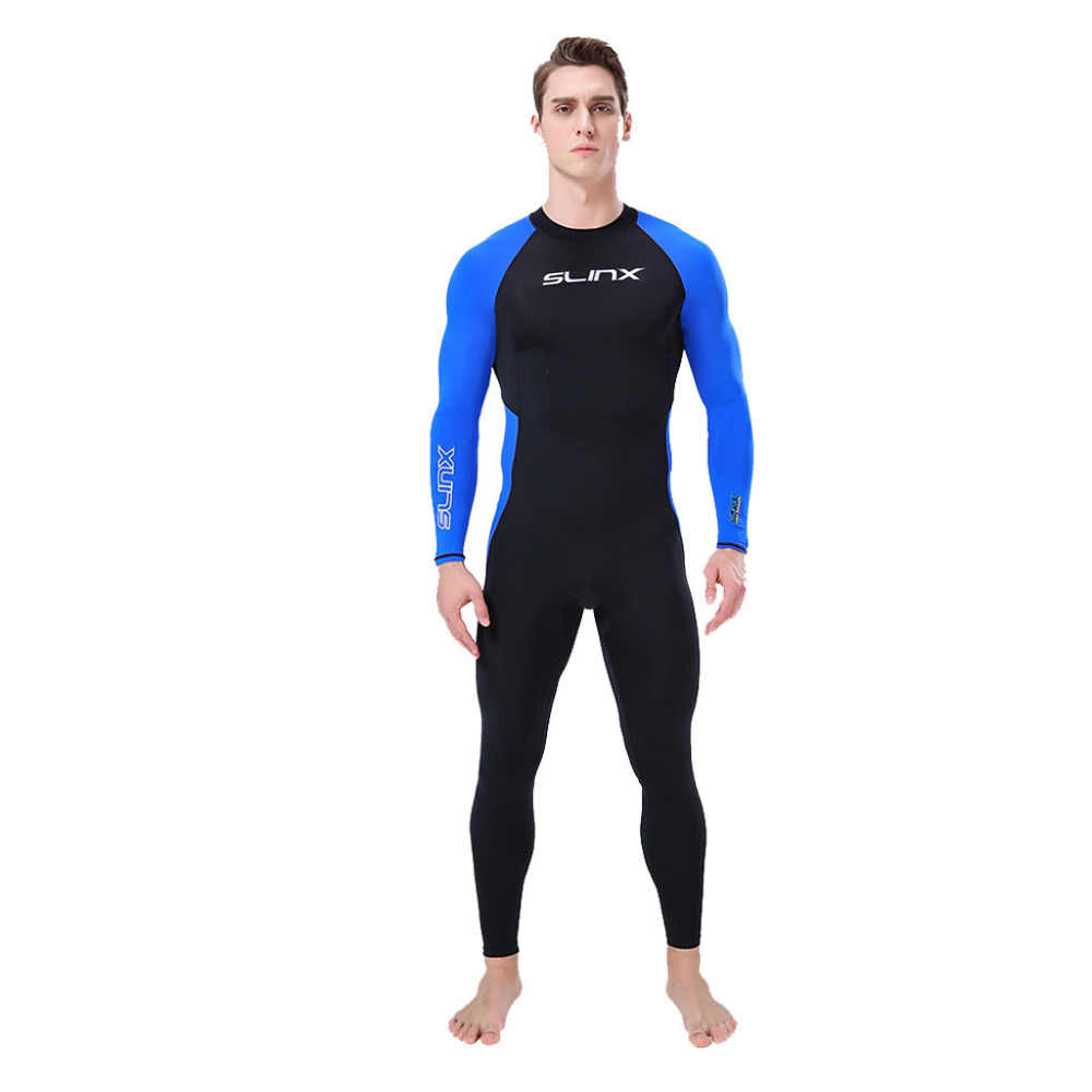 S-XXXL Mannen Wetsuit 3 Mm Full Body Pak Super Stretch Duikpak Zwemmen Surf Snorkelen #4A12