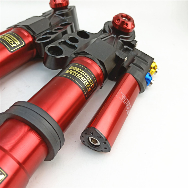 Free Shipping Motorcycle Front Shock Absorbers front Fork 30mm 370mm 400mm For Yamaha Scooter Modify Motorcycle accessories in Falling Protection from Automobiles Motorcycles