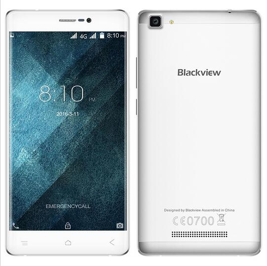 Original Blackview A8 5 Inch HD SmartPhone Android 5 1 MTK6580A Quad core 1 3GHz 1G