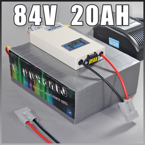 84V LiFePO4 Battery Pack 84V 20AH Electric Scooter Motorcycle Ebike Deep cycle Battery