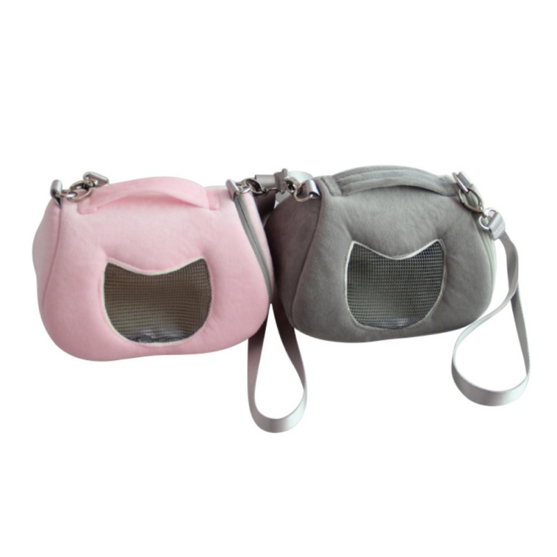 cages Pet Carrier Travel Bag Small Animal Cricetulu Breathable Detachable Strap Single Shoulder Bags Handbag Pet Supply