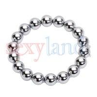 2.35 Inch Inner Diameter Plus Size Beads Stimulation Stainless Steel Doughnut Co
