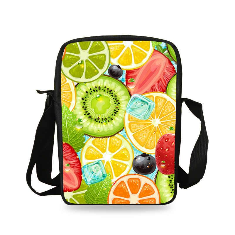 Сумка через плечо с милыми фруктовыми фруктами, маленькие сумки-мессенджеры для мальчиков, дорожные сумки через плечо для женщин, Mochila Child