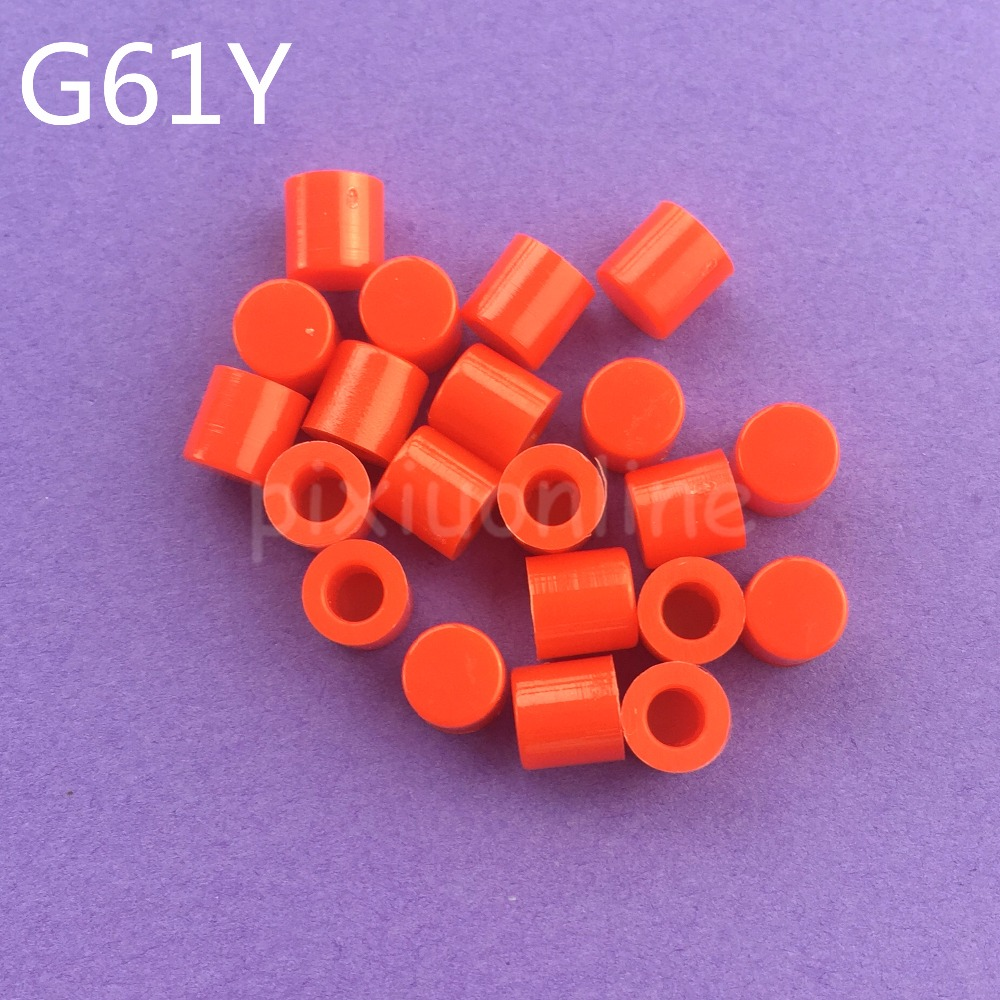 BUTTONS X 12 REDDY ORANGE 12MM APPROX