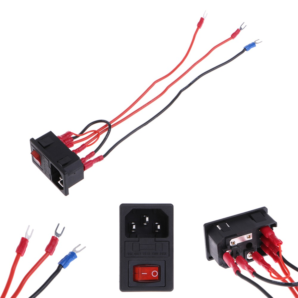 110v Plug Wiring Diagram For Ac New 220v 110v 15a Inlet Male Plug Power Supply Socket With